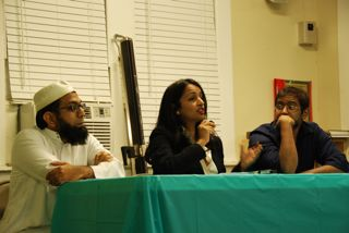 Panelist at Islamophobia event in December 2012