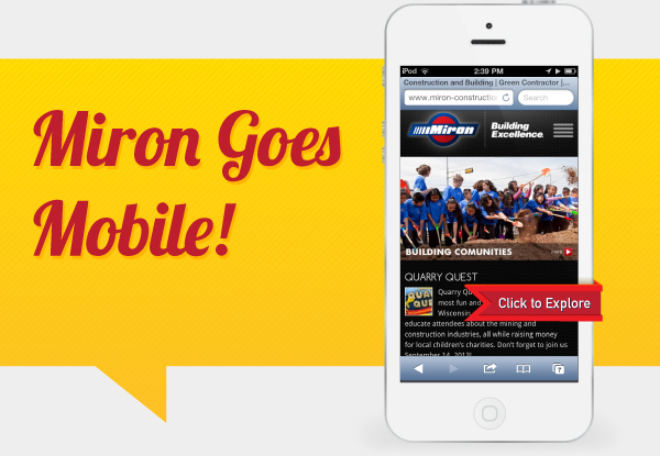 Miron Goes Mobile! Click to explore on your smartphone!