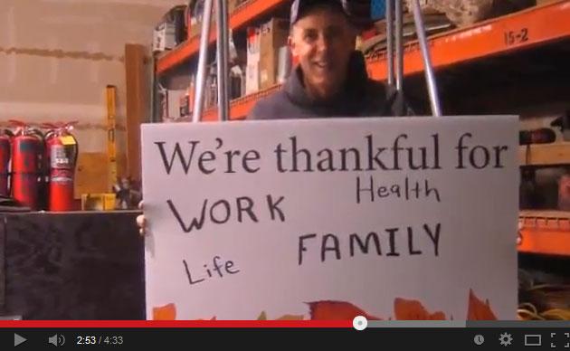 Thankful video