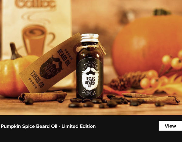 Pumpkin Spice Beard Oil - Limited Edition - View
