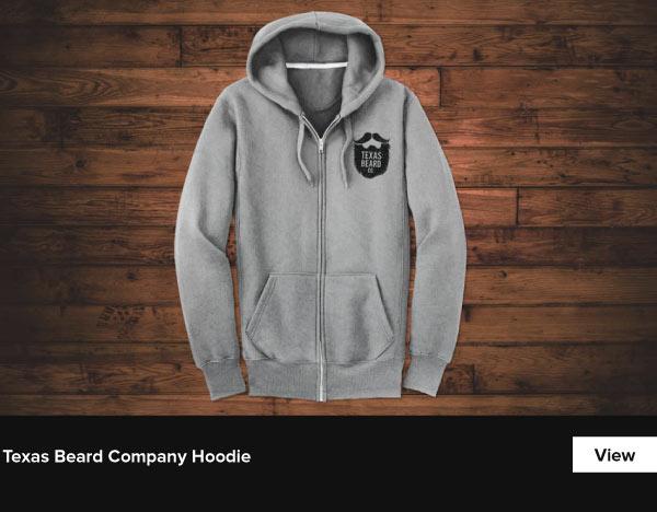 Texas Beard Company Hoodie - View