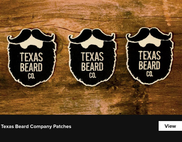 Texas Beard Company Patches - View