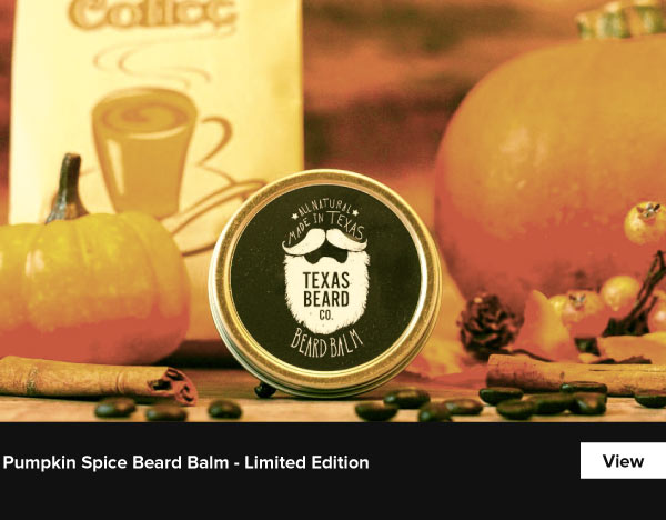 Pumpkin Spice Beard Balm - Limited Edition - View