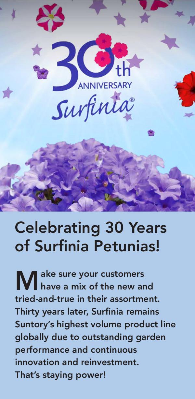 Surfinia 30th Anniversary