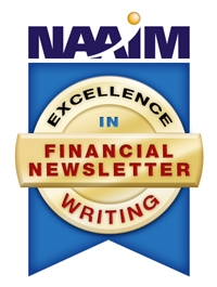 Financial Newsletter Excellence Award