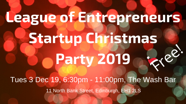 Want to come to our free Christmas Party? Click image to get tickets