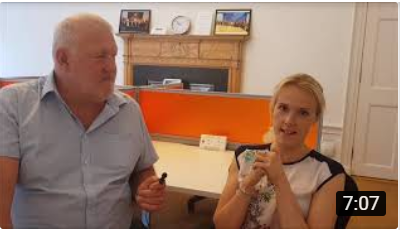 Video of James Shoemark's teaser interview with Kirsty Mackenzie
