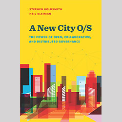 book cover for A New City O/S