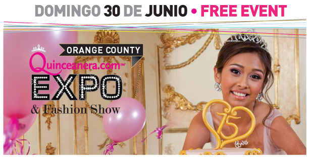 Quinceanera Expo header