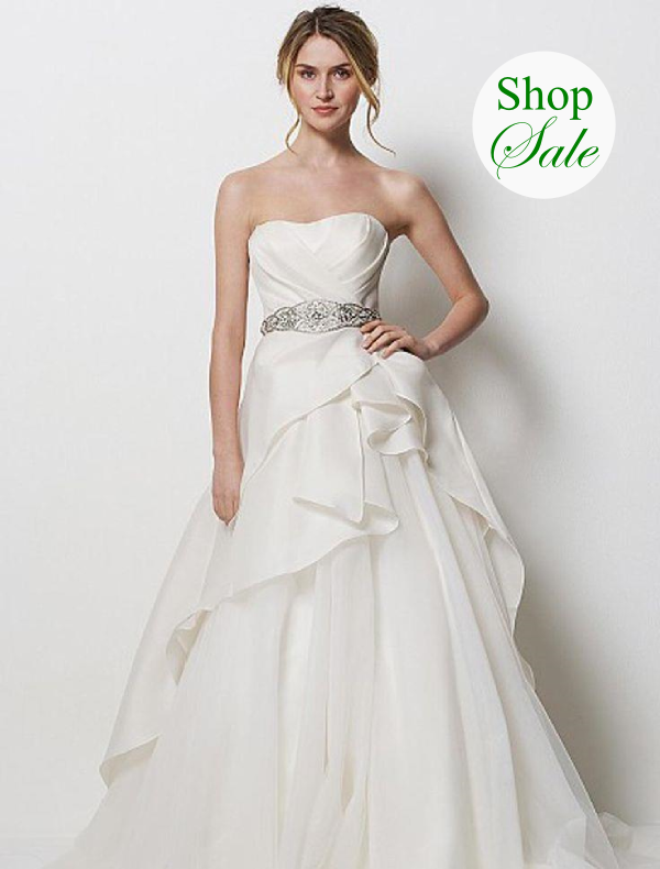 20% off all designer wedding dresses & accessories