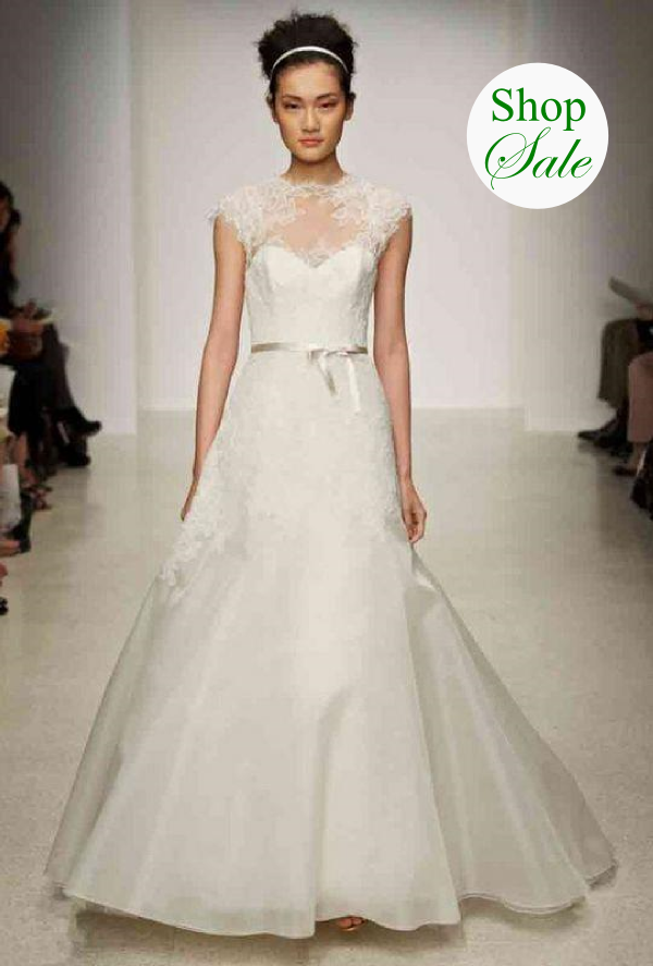 20% Off all designer wedding dresses & bridal accessories