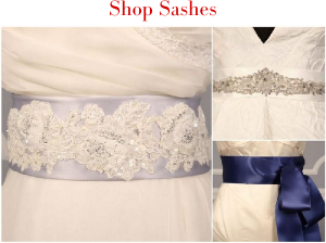 25% Off Bridal Sashes