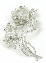 New Giavan P3-53 Floral Brooch Pin