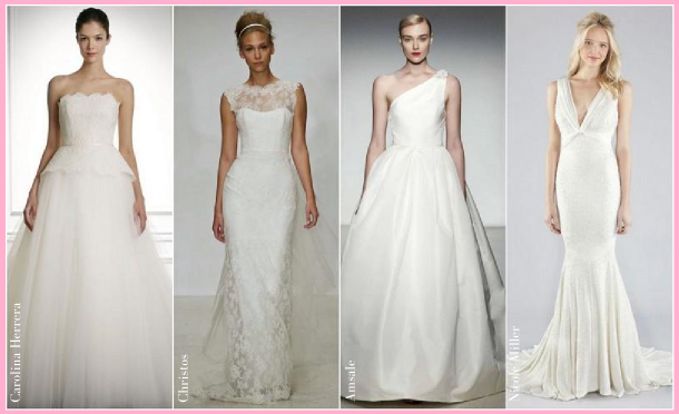 14% Off all designer wedding dresses & bridal accessories