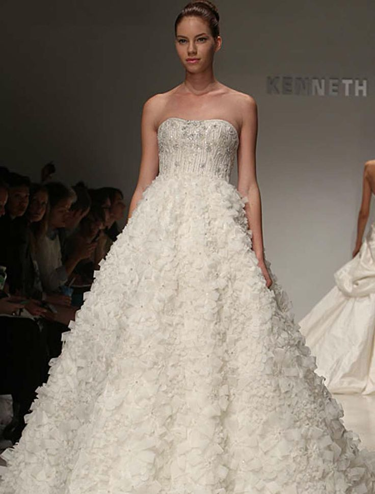 Kenneth Pool Discount Designer Wedding Dresses