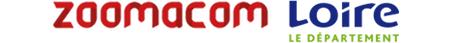logos Zoomacom et Loire