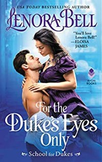 cover of For the Duke's Eyes Only