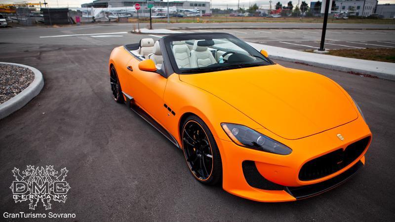 """DMC Maserati Gran Turismo """"Sovrano"""""""