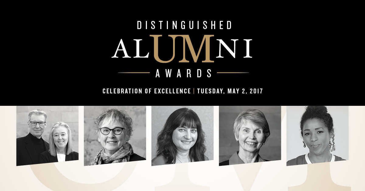 Distinguished Alumni Awards Celebration of Excellence Tuesday May 2, 2017