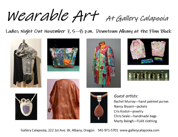 Gallery Calapooia - Wearable Art