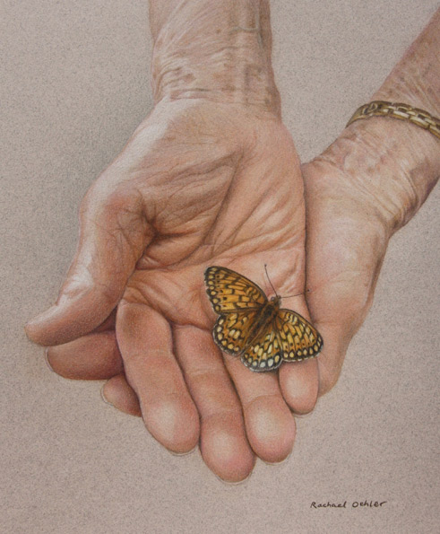 My Grandmother, The Butterfly Whisperer by Rachael Oehler