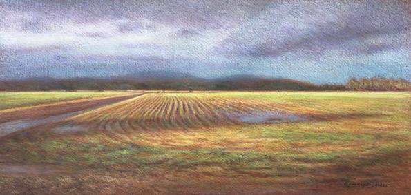 """Landscape in E Major"" by Rachael Oehler"