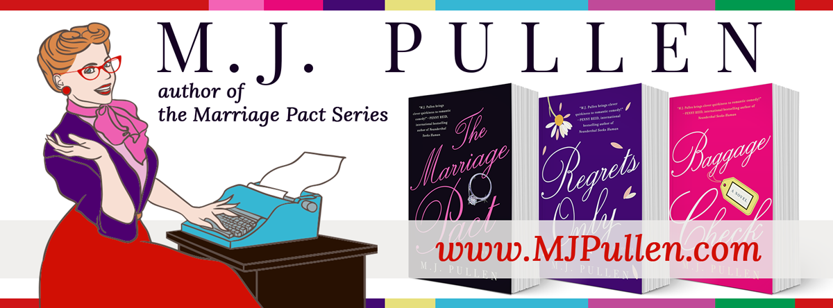 M.J. Pullen - author of the Marriage Pact Series