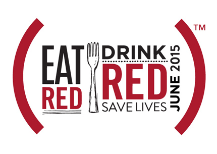 Eat Red Drink Red Save Lives June 2015