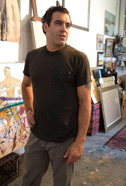 Artist Stephen Mannino