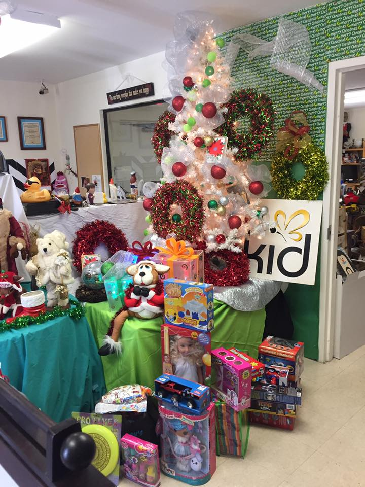 Donations From NADP Holiday Party For Kids In Distress
