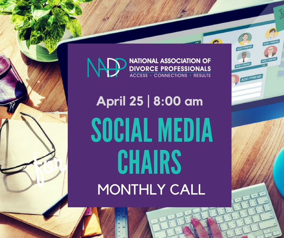 NADP Social Media Chairs Monthly Call With Kimball Stadler