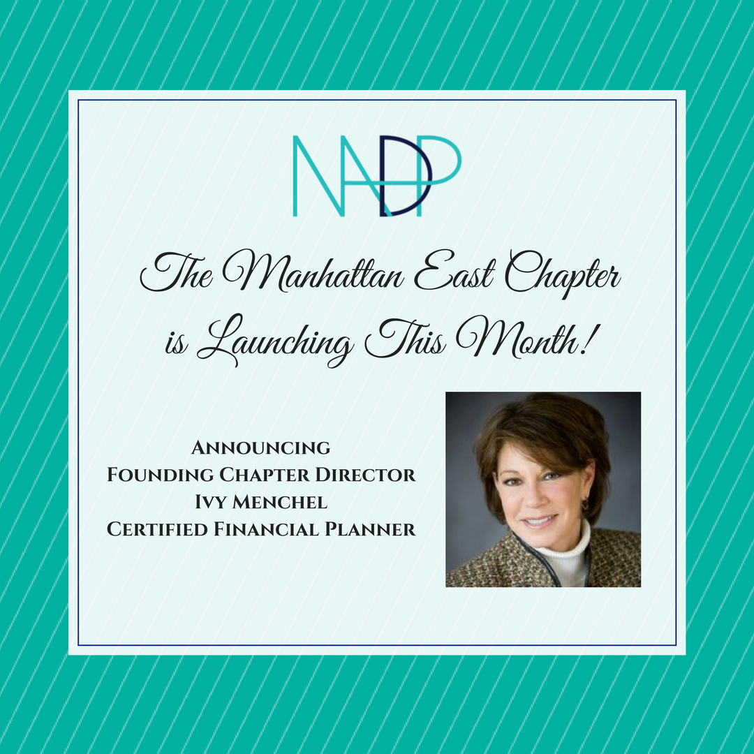 The NADP Manhattan East Chapter is Launching!