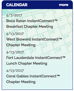 NADP Upcoming Meetings