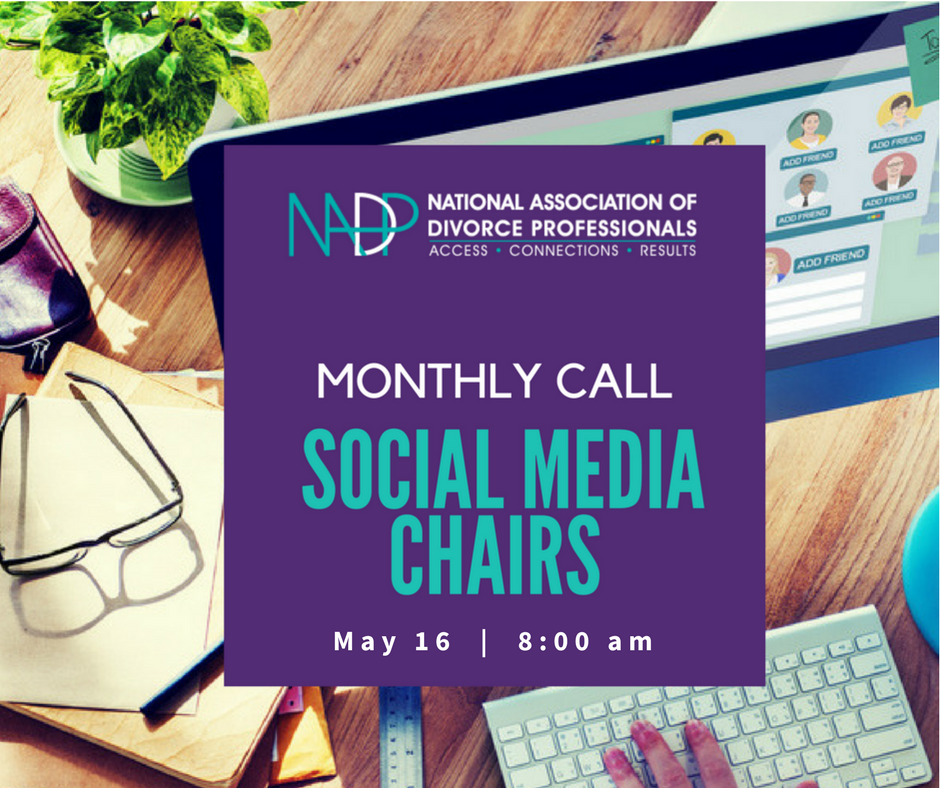 Social Media Chair Monthly Call Reminder