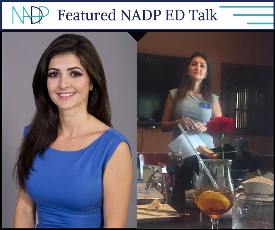 NADP Member Rozita Rafat ED Talk