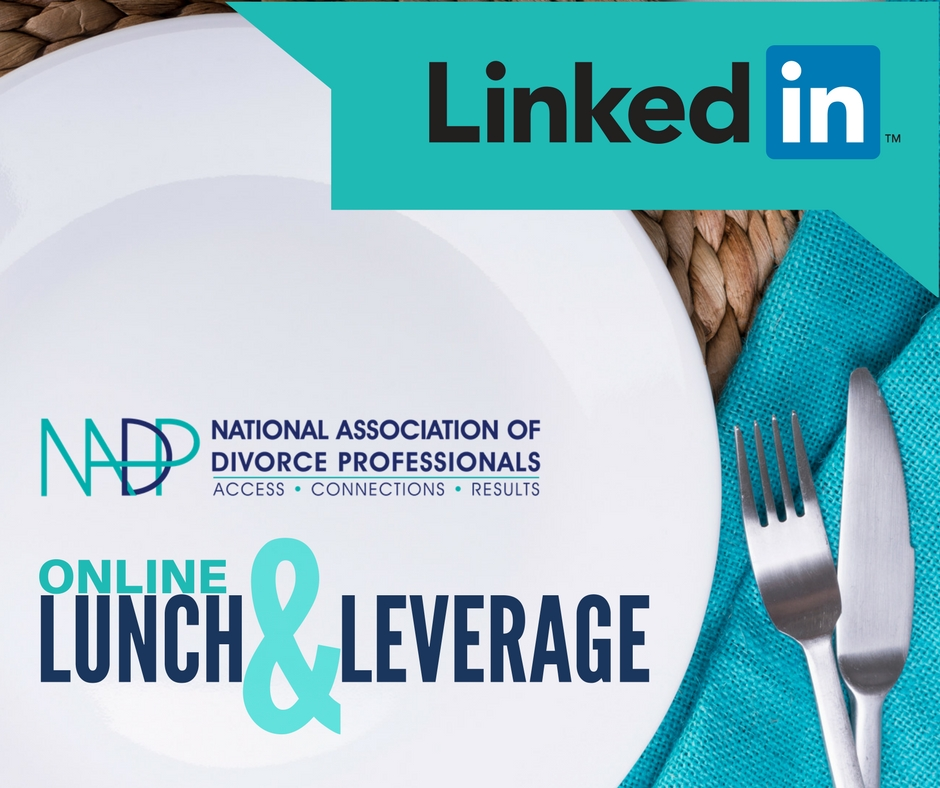 NADP Lunch and Leverage LinkedIn Workshop With Kimball Stadler