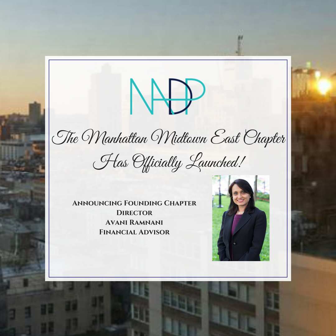 The NADP Manhattan Midtown East Chapter Has Officially Launched!
