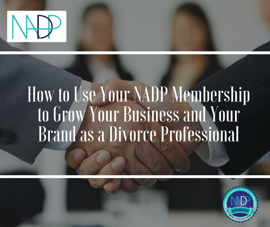 How to Use Your NADP Membership