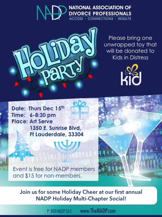 NADP Holiday Party 2016 Invite