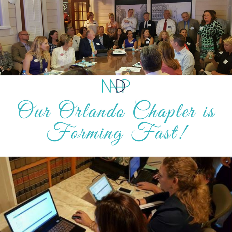 The NADP Orlando Chapter is Forming Fast!
