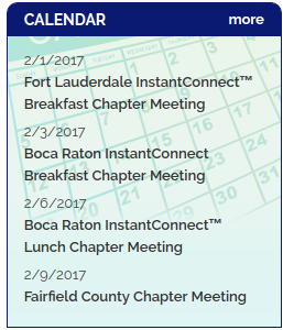 NADP Upcoming Chapter Meetings