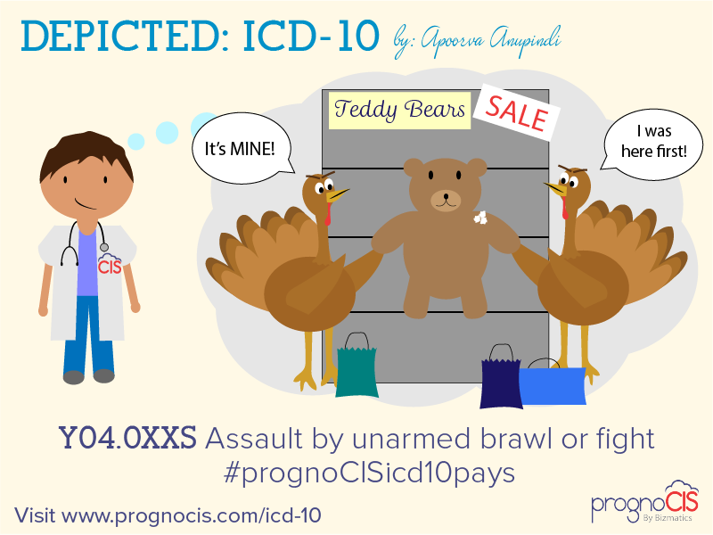 ICD-10: Assault by unarmed brawl or fight