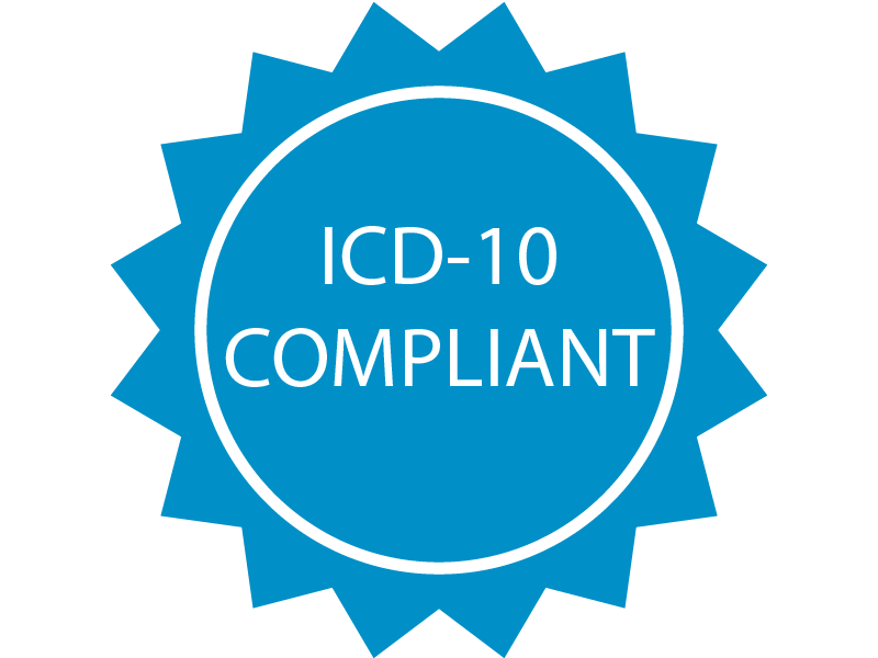 ICD-10 Compliant