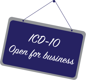 ICD-10 Open For Business