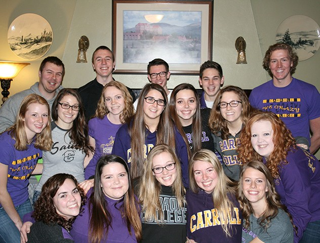 Group of Carroll Students