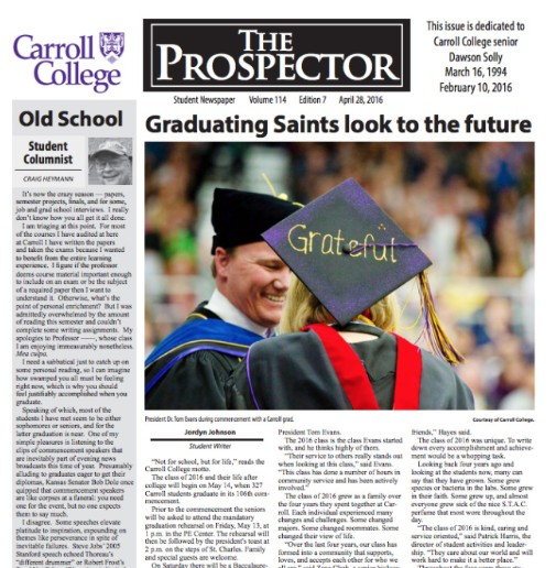 The Prospector Paper