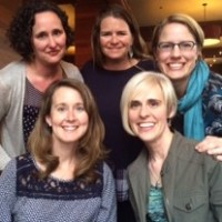 Carroll roommates and freshman hallmates from the classes of '96-'98