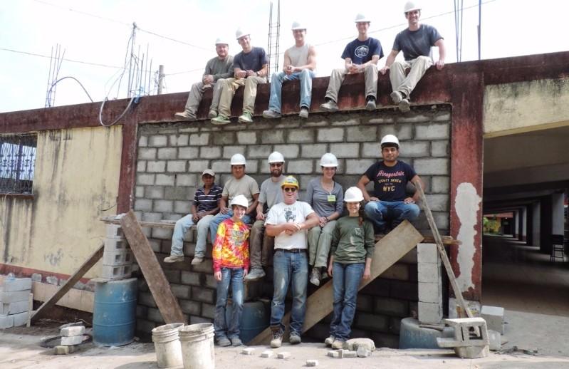 Construction Crew, Guatemala Grant