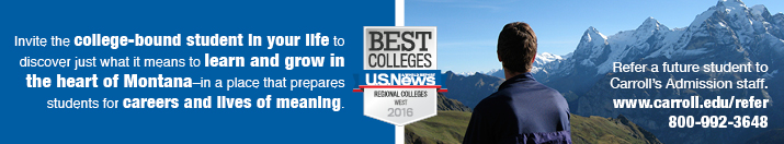 Best Colleges, US News Banner
