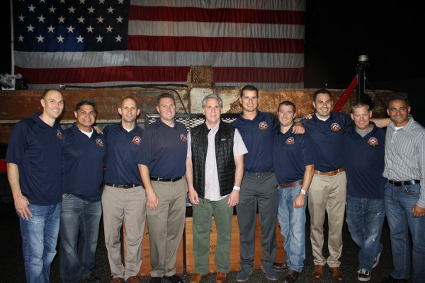 Kevin McCarthy at the Bakersfield Fire Department 9/11 Memorial